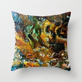 Sludge Throw Pillow