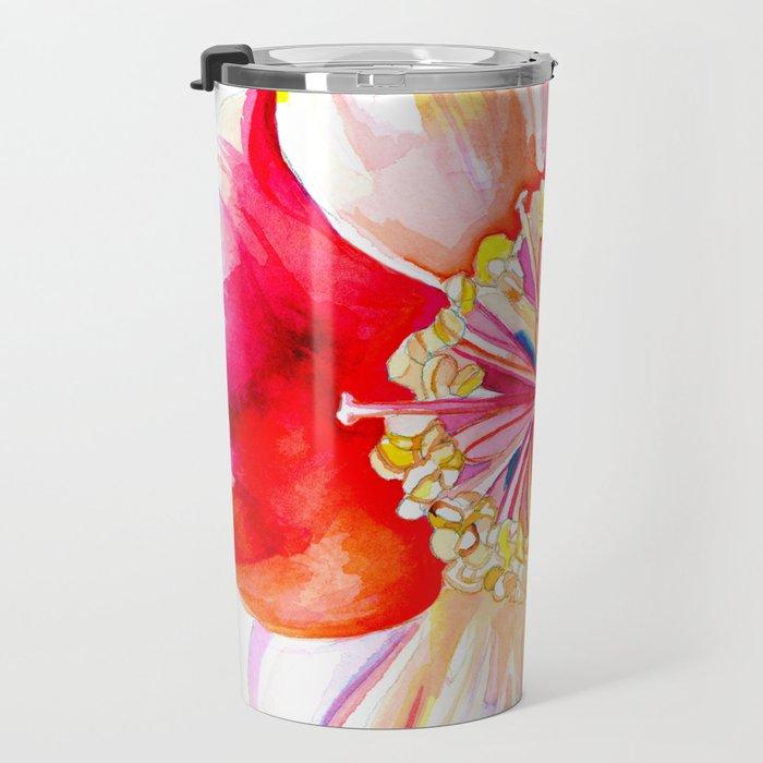 Red Ilima / Ko'oloa'ula Travel Mug