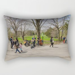 Central Park Situation Rectangular Pillow
