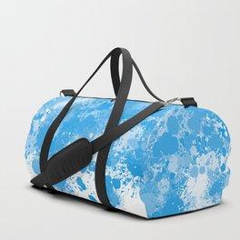 paint splatter on gradient pattern bbwb Duffle Bag