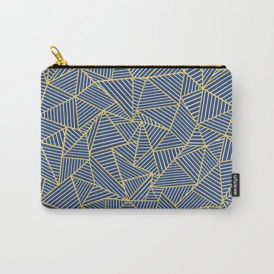 Ab Out Double R Navy Carry-All Pouch