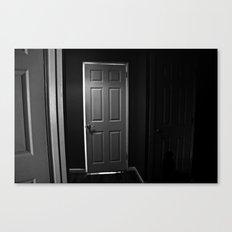 The Door. Canvas Print