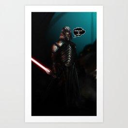 Lord Starkiller Art Print