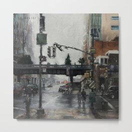 The Highline Metal Print