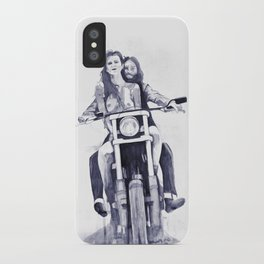 Biker Babes iPhone Case