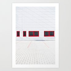 Patio 1 Art Print