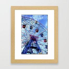 Wonder! Framed Art Print
