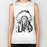 native american Biker Tanks featuring Native by Lauryn Danae