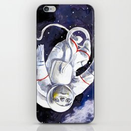 Neil the Sloth in Space! iPhone Skin