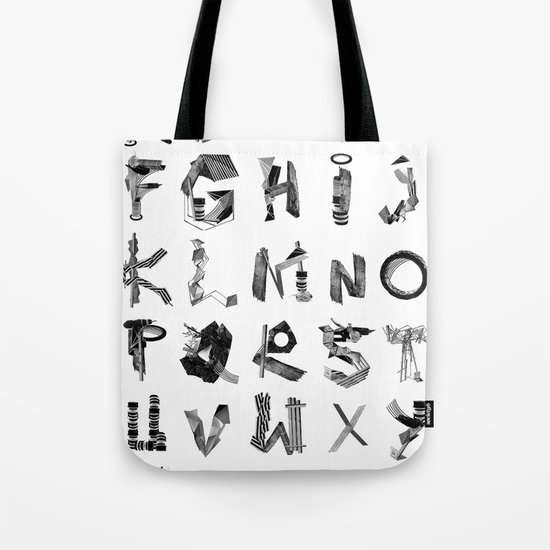 Avalanche ABC Tote Bag