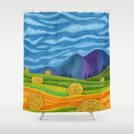 Hay Day Shower Curtain
