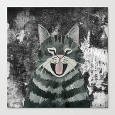 Cat Painting 09 Canvas Print