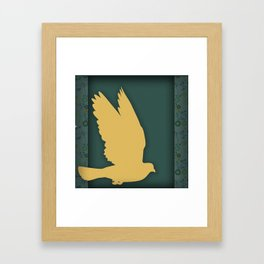 Spring Flight Framed Art Print
