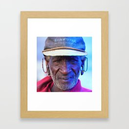 African Chief: Samburu Elder Framed Art Print