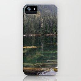Mason Lake Washington iPhone Case