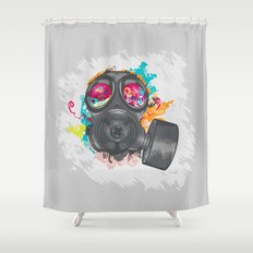 Not Over Yet Shower Curtain