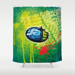 Jovenes Adventistas Shower Curtain