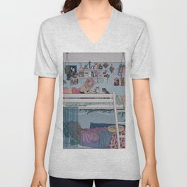 Pastel Daydreams Unisex V-Neck