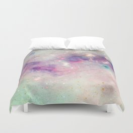 The colors of the galaxy Duvet Cover