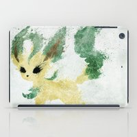 leaf iPad Cases featuring Leaf by Melissa Smith