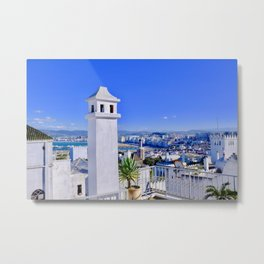 A View of Tangier Metal Print