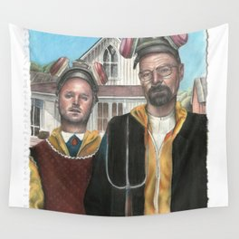American Gothic is Breaking Bad Wall Tapestry