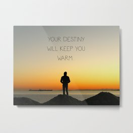 Try Not to Worry... Metal Print