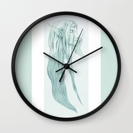 A Little Disheveled Wall Clock