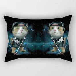 TEAM MEOW HOCKEY Rectangular Pillow