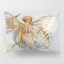 """Fairies Mid Sweet Peas"" by Margaret Tarrant Pillow Sham"