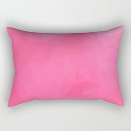 """Raspberry jam"" triangles design Rectangular Pillow"