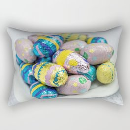 Easter Plate X Rectangular Pillow
