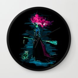 Evil Elphaba the wicked Witch Wall Clock