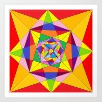 fibonacci Art Prints featuring FIBONACCI  by PlanetLOUDville