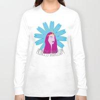 princess bubblegum Long Sleeve T-shirts featuring Princess Bubblegum by nilvohs designs