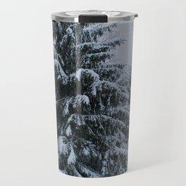 New England Winter Travel Mug