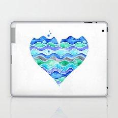 A Sea of Love (white) Laptop & iPad Skin