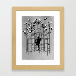 Supervision Framed Art Print