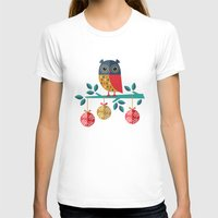 micklyn T-shirts featuring WOOHOO IT'S CHRISTMAS! by Daisy Beatrice