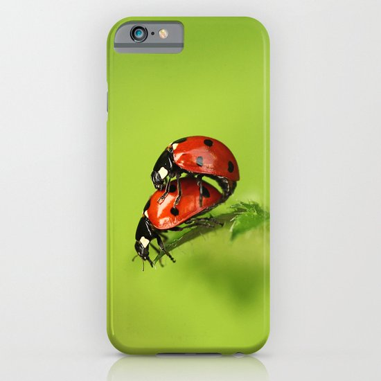 Ladybirds in spring iPhone & iPod Case