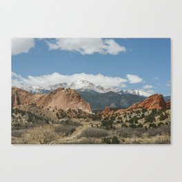 The Garden of the Gods Canvas Print