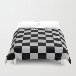 Checkered Past Duvet Cover