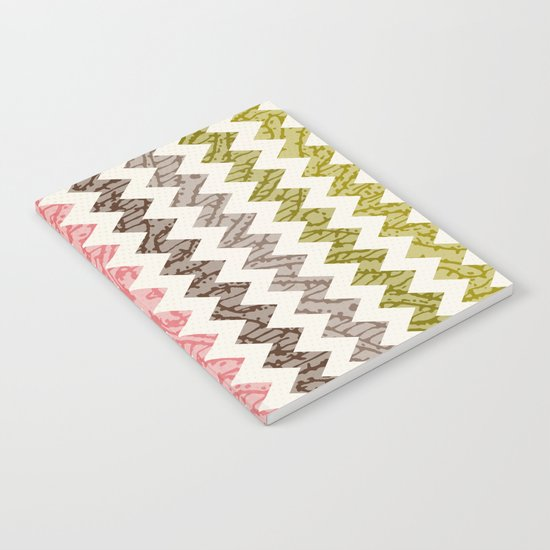 TRIBAL CHEVRON PATTERN Notebook