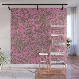 Decorative flowers 13 Wall Mural