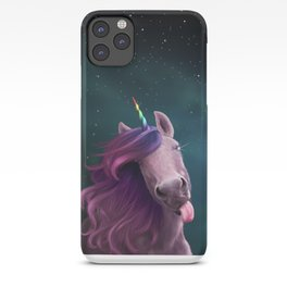 Sassy Unicorn iPhone Case