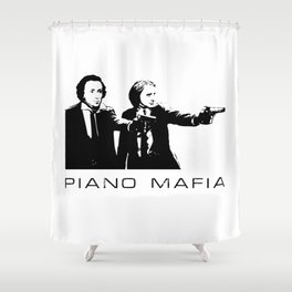 Piano Mafia - Chopin, Liszt Shower Curtain