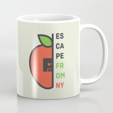 Escape From New York Minimalist Coffee Mug