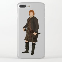 Jamie Fraser Clear iPhone Case