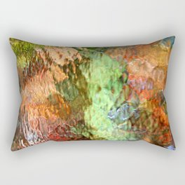 Abstract Water Reflection Rectangular Pillow