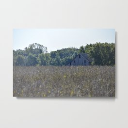 Stop on the Side of the Road and Take a Picture Metal Print